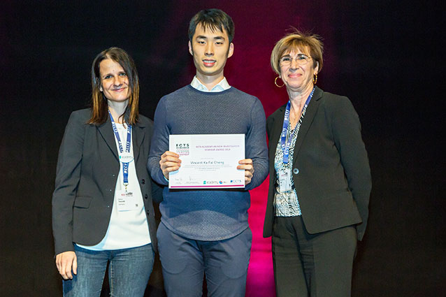 Congratulation to Mr. Vincent Ka Fai CHENG, being awarded the East-Meets-West Research Award and the ECTS Academy-IBI New Investigator Seminar Award at the 46th Annual Congress of the European Calcified Tissue Society (ECTS), Budapest, Hungary on May 11-14, 2019