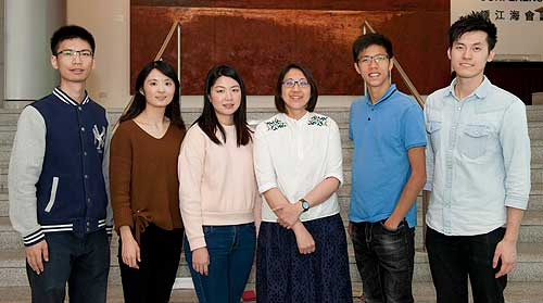 Dr. Connie Woo and her research associates