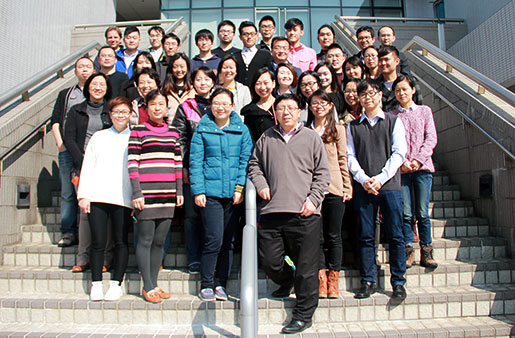 Professor Aimin Xu and his research associates